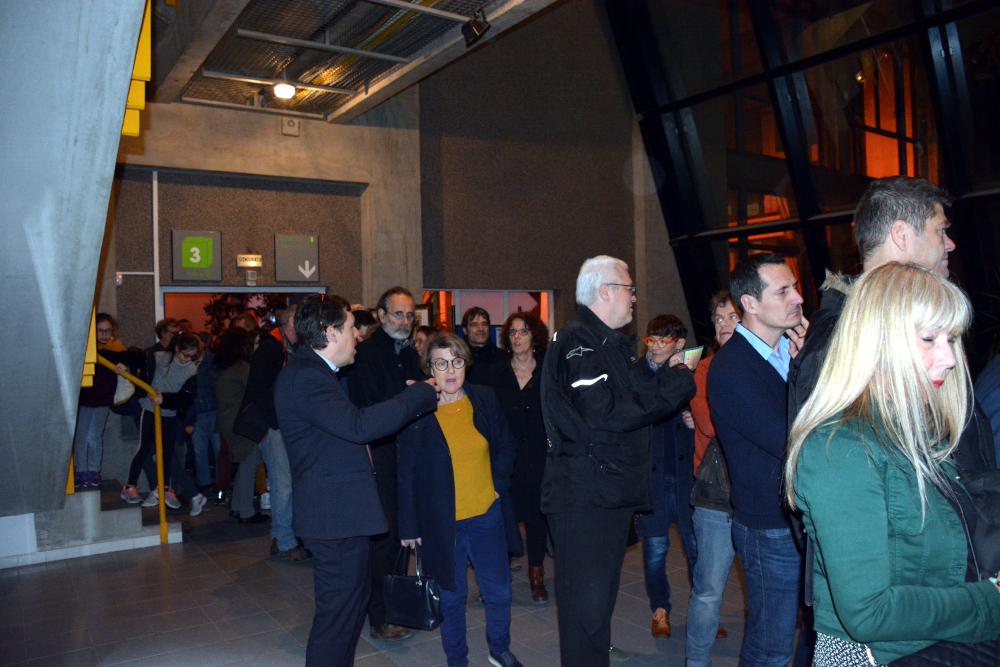 Photo soirée d'inauguration du FabLab de Nîmes